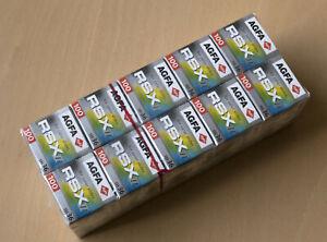 10x AGFA RSX II 100 - Diafilm 135-36 (OVP) - 07/2007 - bisher tiefgefroren