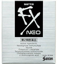 SANTEN Sante FX Neo Eye Drops Cool 12ml Eyedrops Japan