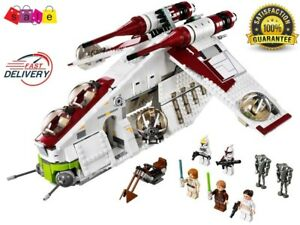 Star wars Republic Gunship Set Compatible With Legos Toys building blocks gift
