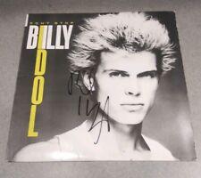 Billy Idol Rock Legend Signed Autographed DONT STOP Vinyl ALBUM Record COA