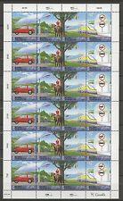 Klima, Auto, Eisenbahn, Pferd - UNO-Wien - 346-349 KB ** MNH 2001