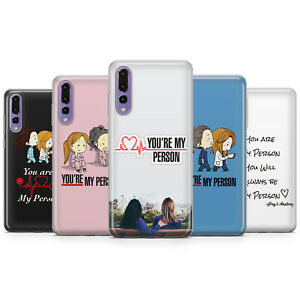 GREY'S ANATOMY YOU ARE MY PERSON PHONE CASES & COVERS FOR HUAWEI P10 P20 P30 P40