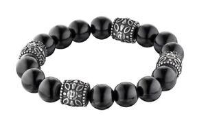 Police REBEL Women's Black stainless Steel Bracelet 25601BSB/03