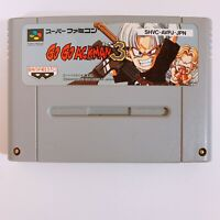Go Go Ackman 3 Nintendo Super Famicom SFC SNES Japan game tested working