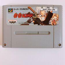 Go Go Ackman 3 Nintendo Super Famicom SFC SNES Japan game tested working