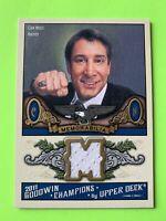 Cam Neely 2011 Goodwin Champions Hockey Jersey Card #M-CN Boston Bruins
