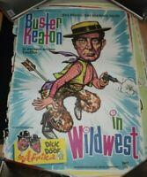 DICK UND DOOF Buster Keaton ,Original Filmplakat A1,1960er Jahre NOS gerollt