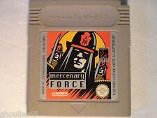 MERCENARY FORCE GAME BOY MERCENARY FORCE NINTENDO GAME BOY