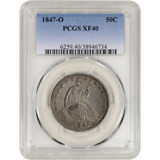 1847-O US Seated Liberty Silver Half Dollar 50C - PCGS XF40