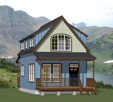 18x30 House -- PDF Floor Plan -- 999 sq ft -- Model 7I