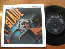 SLADE >1985<DO YOU BELIEVE IN MIRACLES>45RPM 7in SINGLE VINYL  RECORD JUKEBOX