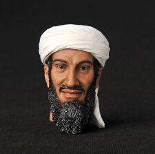 """12"""" Figure HEADPLay Model Toy Osama bin Mohammed bin Awad bin Laden Man 1/6 Head"""