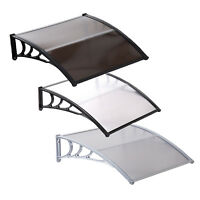 40''x40'' Window Awning Outdoor Polycarbonate Door Patio Sun Shade Cover Canopy