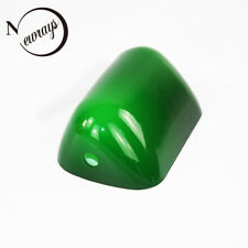 Small Green Glass Banker Bright Lamp Cover Shade Cased Replacement Lampshade