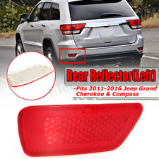 Reflector Light Rear Left Bumper Fog Lamp Cover for Jeep Grand Cherokee Compass
