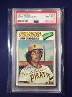 1977 Topps John Candelaria #510 PSA 8 Pittsburgh Pirates