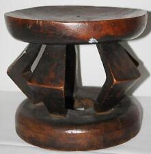 Sgabello in legno africano-SPEDIZIONE GRATUITA [PP-127]