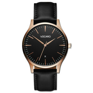 The Minimalist Classic Watches Rose Gold Black