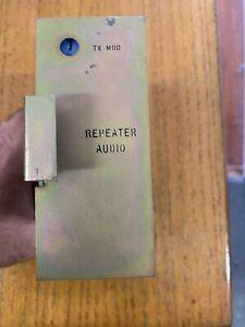 GE MASTR II Master Repeater Audio Module