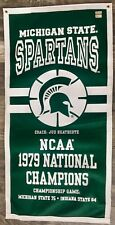 Michigan State Spartans NCAA Basketball Magic Johnson Banner