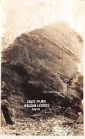 Garretsville OH Nelson-Kennedy Ledges State Park~RPPC c1937