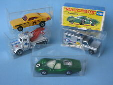Lesney Matchbox Superfast Clear Plastic Storage Display Box 125 Toy Model Cars.