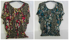 Scoop Neck Floral Singlepack Tops & Shirts for Women
