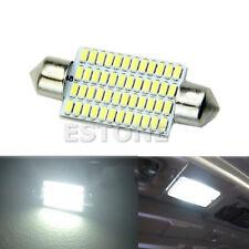 New 42mm 48 LED 3014 SMD White Car Interior Light Festoon Dome Bulbs Lamp 01#