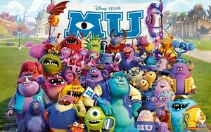 New Monsters University Birthday Party Supplies Tableware & Balloons Decorations