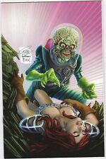 Mars Attacks Red Sonja (2020) #1 Leary Virgin Homage Spider-man Variant VF/NM