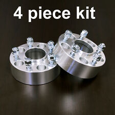 "4pc 1.5"" Hubcentric Wheel Spacers - 5x100 to 5x100 - 57.1 bore - 12x1.5 Studs"