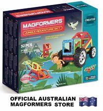 Genuine MAGFORMERS Jungle Adventure Set 32 pcs - 3D Magnetic construction