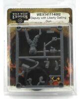 Wild West Exodus WEX141114002 Deputy with Liberty Gatling Gun (Lawmen) Weapon