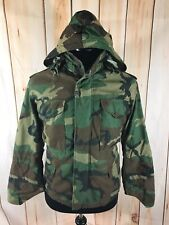 US Military Cold Weather Jacket Alpha Industries Nato Mens X-Small XS