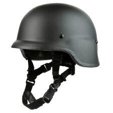 Tactical Ballistic Aramid Bulletproof Military Helmet PASGT Armor NIJ IIIA Black