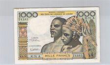 Côte d'Ivoire 1000 Francs Non daté M.76 A n° 188624305 Pick 103Al
