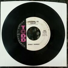 Buddy Thomas - Learning To Forget / Have A Drink On Me 45 Todd 1063