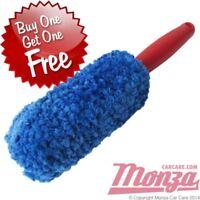 Monza Car / Motorbike Microfibre Alloy Wheel Cleaning Brush  **NO METAL PARTS**