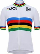 UCI Straßenrad Weltmeister 2020 Radtrikot kurzarm - Santini