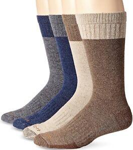 Carhartt Woolen men's work crewsocks 4pairs/pk sizeL 6-12 TOP Quality! Recommend