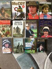 HORSE RACING BOOKS JOB LOT. 12 IN TOTAL