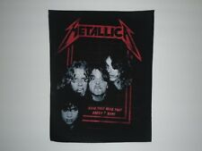 METALLICA BAND THAT HEAD BACK PATCH