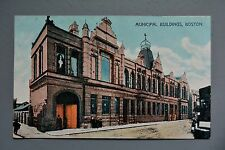 R&L Postcard: Boston Municipal Buildings, Town Hall