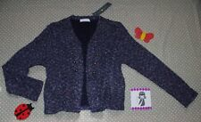 ♥NEUF✿❀ Pull gilet cardigan multicolore femme ✿ CACHE CACHE❀ Taille 3 42/44