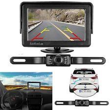 LeeKooLuu Backup Camera and Monitor Kit for Car/Vehicle/Truck Waterproof Night