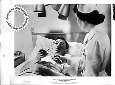 NICHOLAS RAY, James Mason key book still BIGGER THAN LIFE (1956) LINEN nurse #84