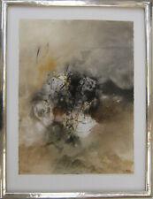 Aquarell von Brandstätter-handsigniert mit Blattgoldrahmen, Original, Unikat