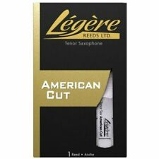 More details for legere synthetic american cut tenor sax/saxophone reed 1.5mm to 3.5mm, tsa
