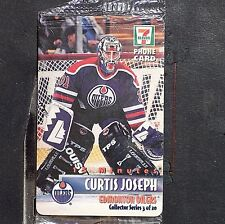 CURTIS JOSEPH  1996/97  7-Eleven Phone Card  15 minutes  #3 of 20   1865/3850