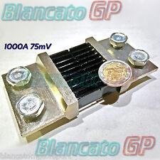 RESISTENZA DI SHUNT 1000A 75mv CLASSE 0.5 DC amperometro ampere ammeter